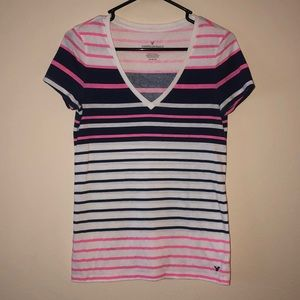 American Eagle Outfitters V Neck Tee